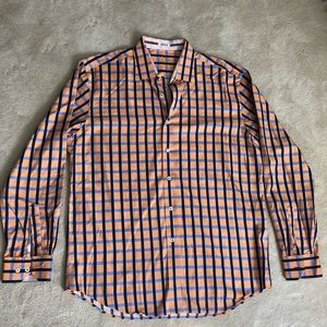 Bugatchi plaid shirt